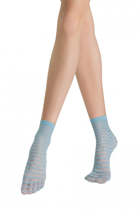 Socks Vivid-Light Stripes Sanpellegrino