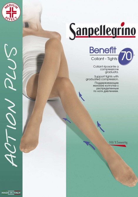 Tights Benefit 70 Action Plus SANPELLEGRINO