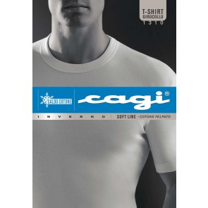 Short Sleeve Crew-Neck T-Shirt 1310 Cagi
